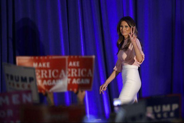 Melania Trump jeudi à Berwyn, en Pennsylvanie.