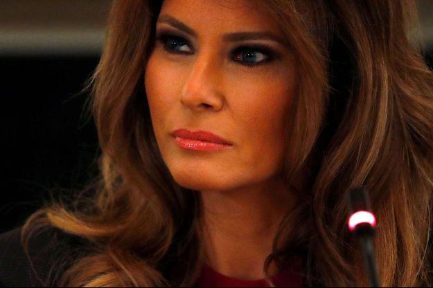 Melania Trump en mars dernier à la Maison Blanche.