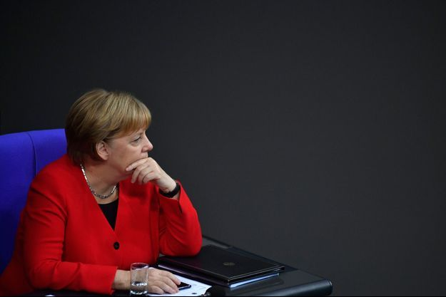 Angela Merkel mercredi à Berlin.