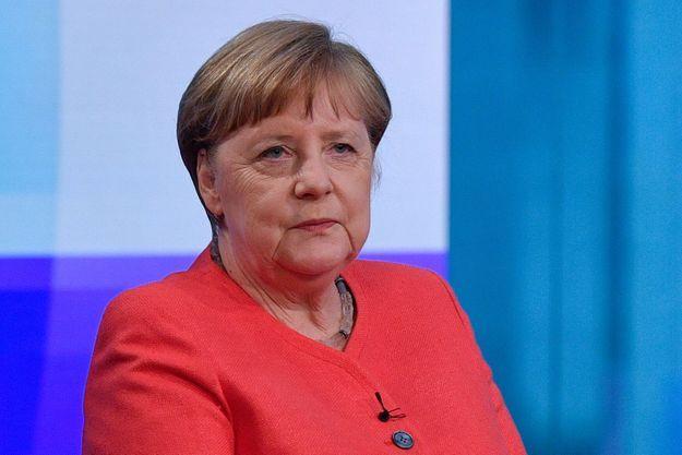 Angela Merkel sur la chaîne publique allemande ZDF le 4 juin 2020.