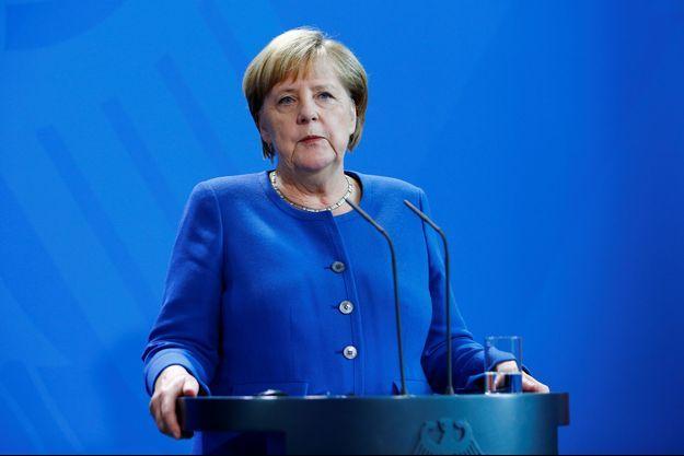 Angela Merkel le 2 octobre 2019.
