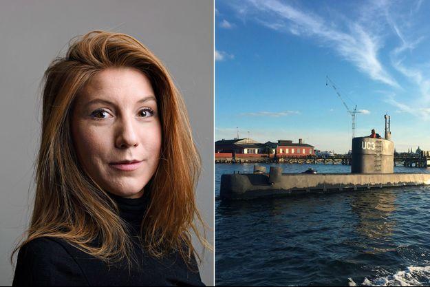 """La journaliste suédoise Kim Vall est morte lors d'une interview à bord de sous-marin artisanal """"UC3 Nautilus""""."""