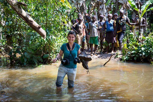 Novembre 2013, en Centrafrique. Maryvonne, la mère de Camille, avait cette image en fond d'écran de son ordinateur.