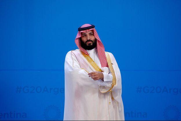Le prince héritier saoudien Mohammed ben Salmane lors du G20 en Argentine, en novembre 2018.