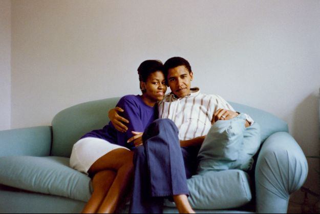 """""""Barack et moi avons habité quelque temps l'appartement d'Euclid Avenue où j'ai grandi. Nous étions deux jeunes avocats."""""""