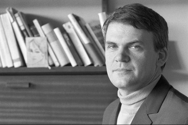 Milan Kundera, en 1968.