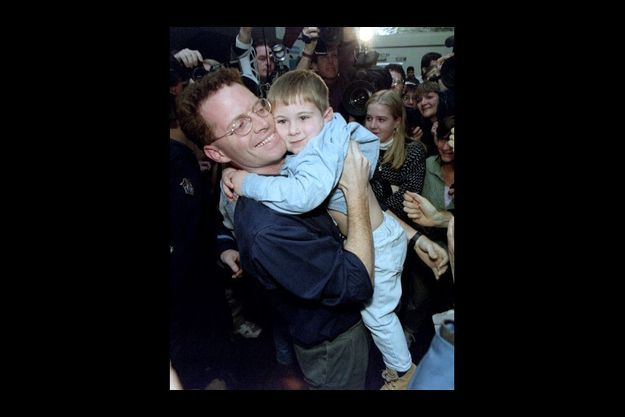 David Rohde retrouve son fils après sept mois de détention