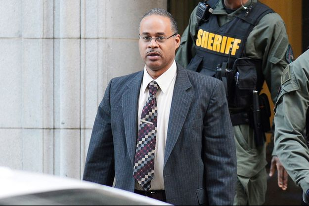 Caesar Goodson, l'un des policiers jugés pour l'homicide de Freddie Gray.