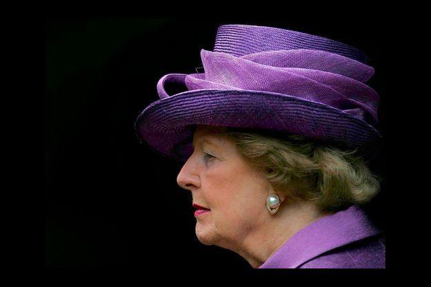 Margaret Thatcher le 14 juin 2007.