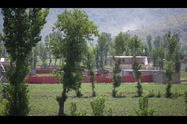 C'est dans une enceinte de ce type, à Abbotabad, qu'Oussama Ben Laden aurait été tué.