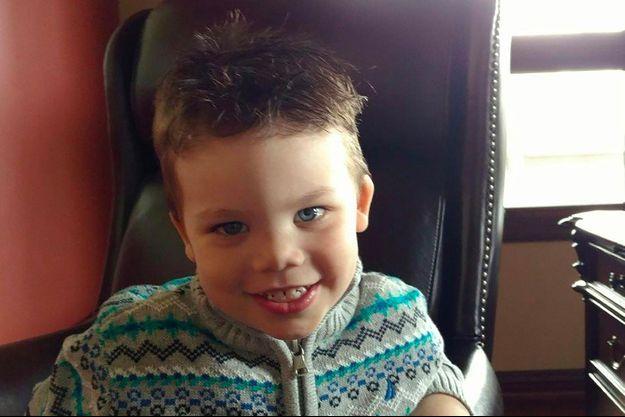Lane Graves, le garçon happé par un alligator à Disney World en juin dernier.