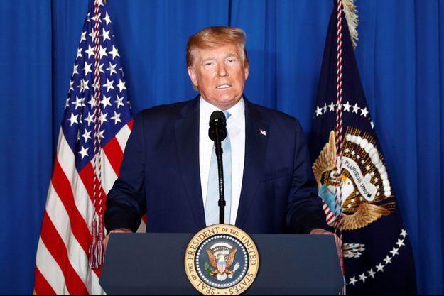 Donald Trump, le 3 janvier 2020.