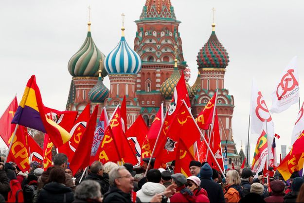 Les manifestants répondaient à l'appel de l'opposant radical de Vladimir Poutine, Viatcheslav Maltsev.