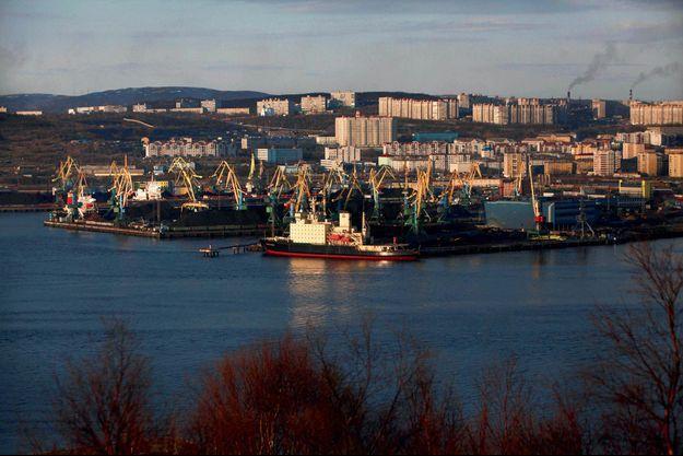 le port de Mourmansk