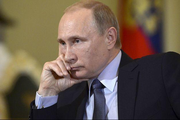 Vladimir Poutine lors de son entretien avec le quotidien italien.