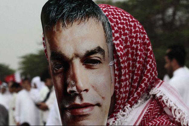 Une manifestation de soutien à Nabeel Rajab datant d'avril 2013.