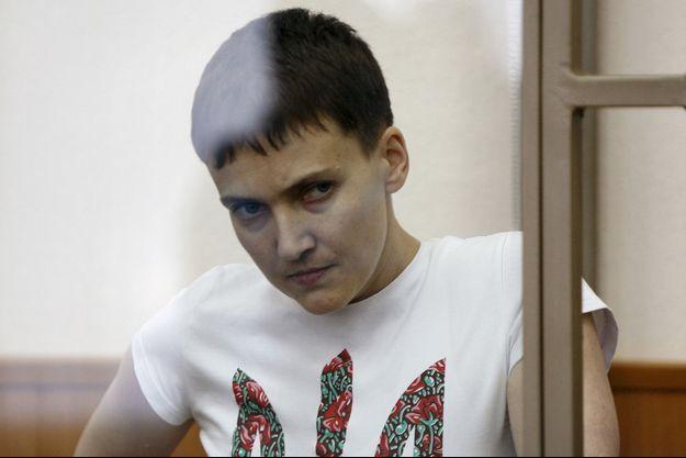 La pilote militaire ukrainienne Nadia Savtchenko a été déclaré coupable du meurtre de deux journalistes russes.