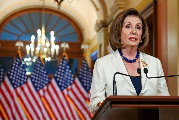 Nancy Pelosi, le 5 décembre 2019.