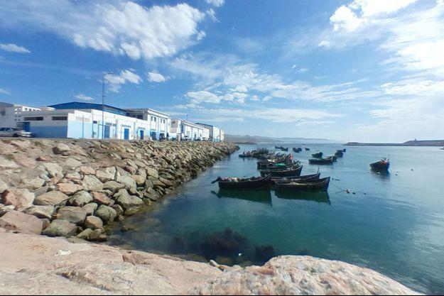 Port de Sidi Ifni, au Maroc.