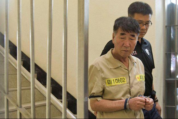 Lee Joon-seok, le capitaine du Sewol, qui a fait naufrage le 16 avril dernier, tuant 292 personnes.