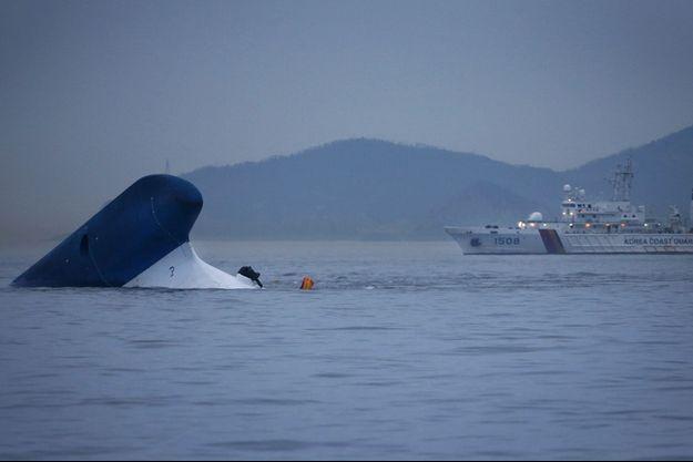 Le Sewol a fait naufrage le 16 avril dernier.