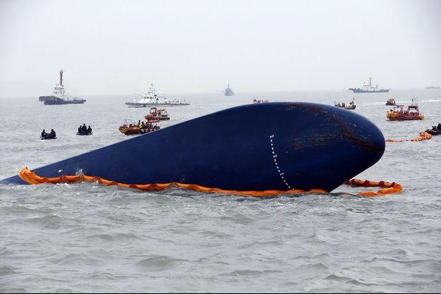 Le naufrage du Sewol a fait 269 morts et 33 disparus.