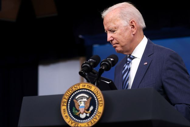 Joe Biden, jeudi à Washington.