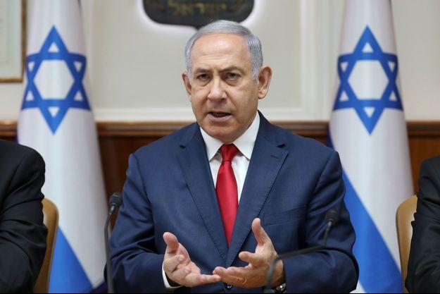 Benjamin Netanyahu, le 7 juillet 2019 à Jérusalem.