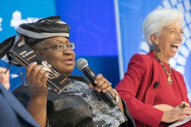 Ngozi Okonjo-Iweala, ici le 15 octobre 2017 au meeting annuel du FMI et de la Banque mondiale à Washington DC