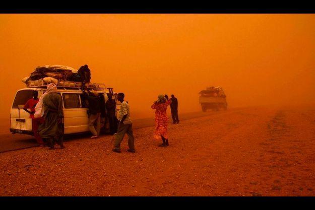 C'est dans la région d'arlit, dans le désert du Nord du Niger, que les Français ont été enlevés.
