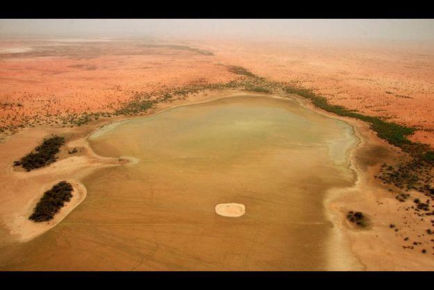 Le lac Banzena, au sud du Mali