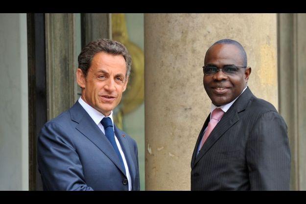 Salou Djibo avait rencontré Nicolas Sarkozy en juillet dernier.