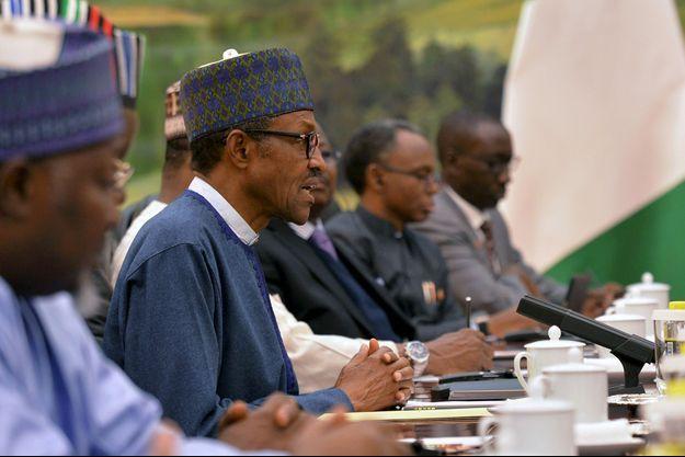 Le président nigérian Muhammadu Buhari.