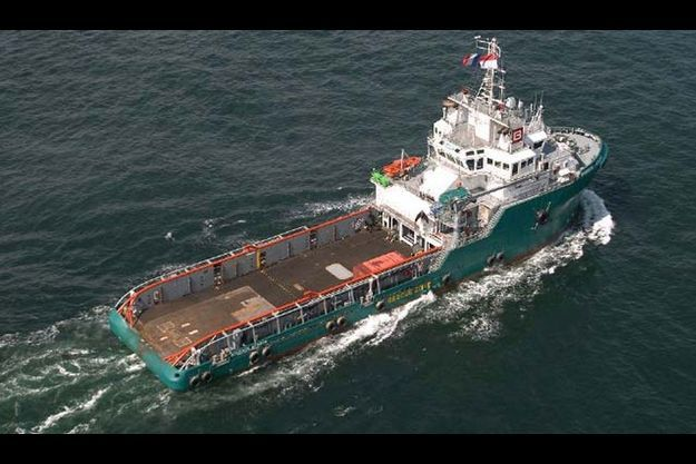 Le Bourbon Alexandre - un navire de type releveur d'ancre (AHTS: Anchor Handling Tug Supply) - est un des 403 navires de la flotte dont dispose le groupe.