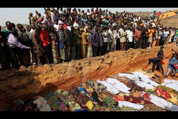Des centaines de chrétiens ont été massacrés dans la nuit de samedi à dimanche.