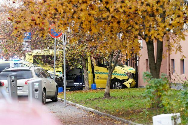 L'ambulance a été volée à Oslo