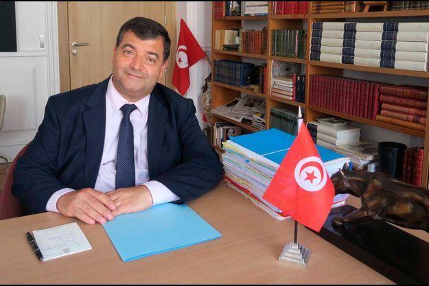 René Trabelsi à Paris, le 28 juin 2019