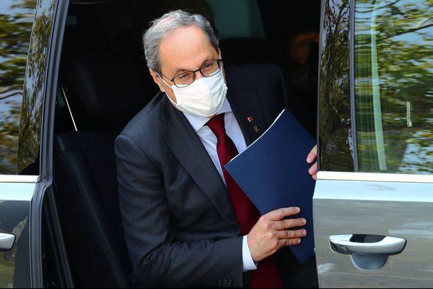 Quim Torra, le président indépendantiste de la région espagnole de Catalogne.