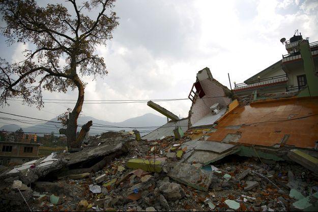 Un nouveau séisme a frappé le Népal, y compris Katmandou ce mardi (où la photo a été prise lundi).