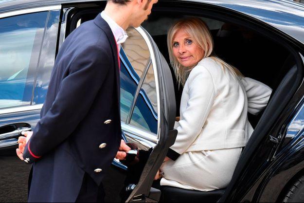 Teresa Castaldo, ambassadrice d'Italie en France, à l'Elysée en juin dernier.
