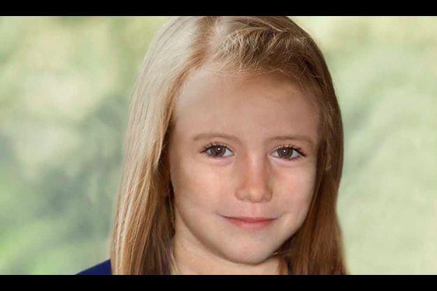 Voici à quoi pourrait ressembler Maddie à 9 ans, selon Scotland Yard.