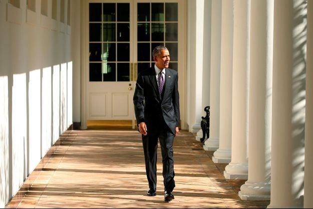 Barack Obama, mardi à la Maison Blanche.