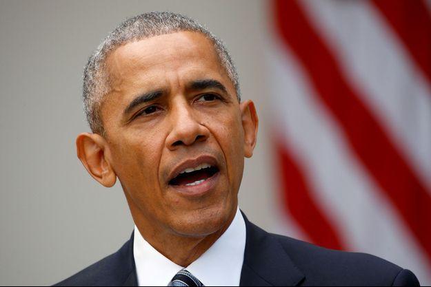 Barack Obama en novembre 2016.