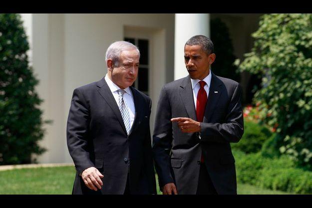 Le Premier ministre israélien benjamin Natanyahou peut compter sur le soutien de Barack Obama, opposé comme lui à la création via l'ONU d'un Etat palestinien.