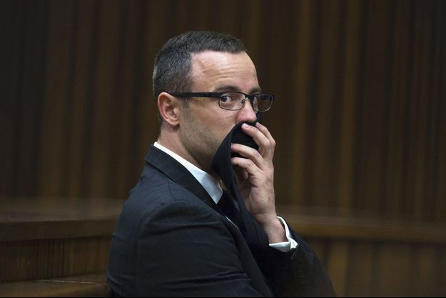 Oscar Pistorius au tribunal de Pretoria, ce mardi.