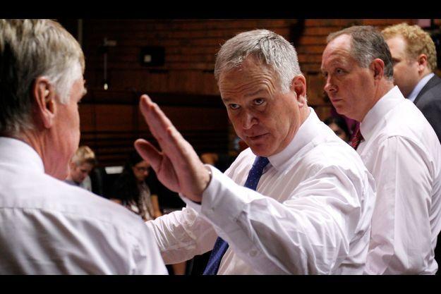 Barry Roux, l'avocat d'Oscar Pistorius, le 22 février.