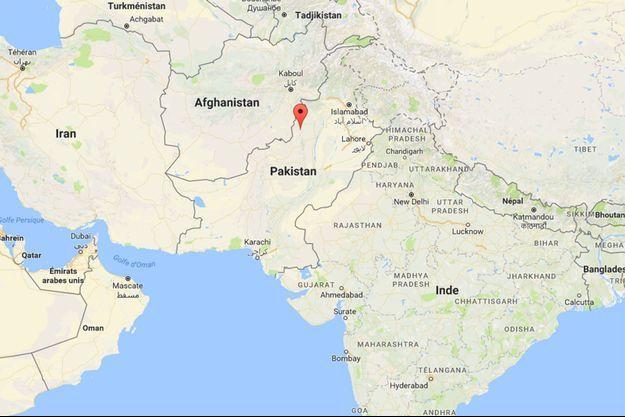 Le jouet-bombe a explosé dans le district tribal du Sud-Waziristan, au Pakistan.