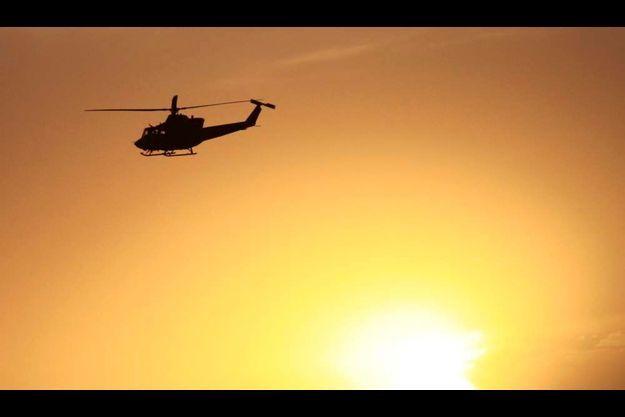 Un hélicoptère de l'Isaf.