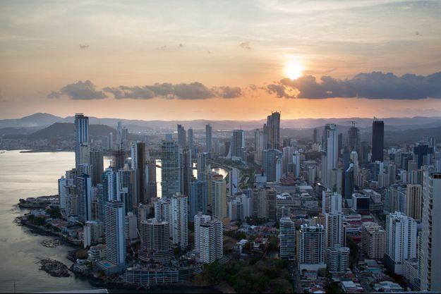 Vue aérienne de Panama City, au Panama.