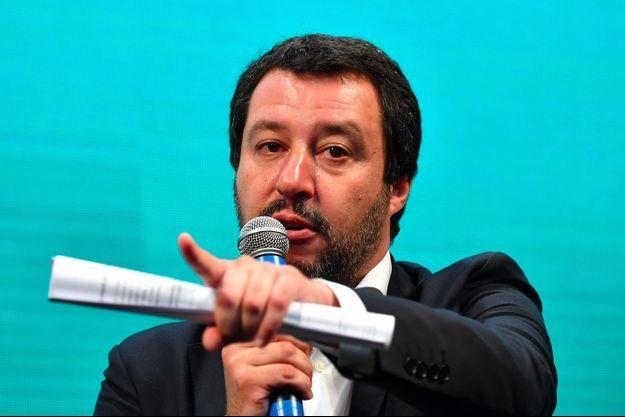 Matteo Salvini à Rome le 13 juin.